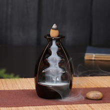 Classic Handmade Chinese Style Inverted Incense Burner Home Office Tea Table Decoration Censer