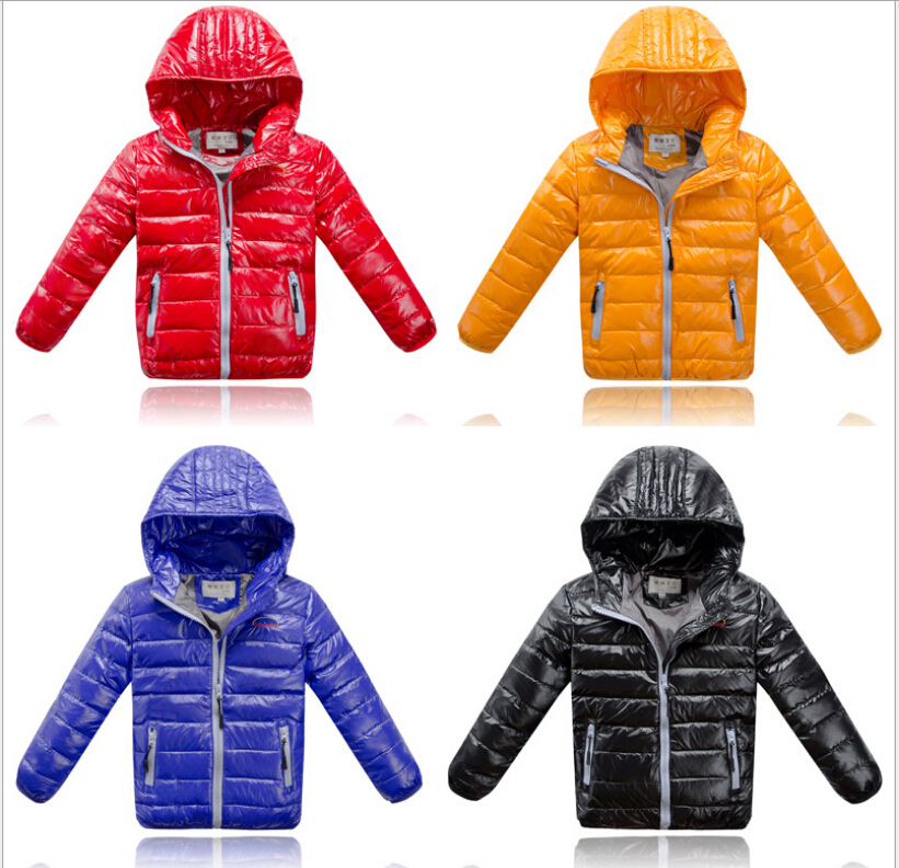 c80914988 Kids Clothes Girls Boys Down Puffer Jacket Parka Outwear Outfit Long ...