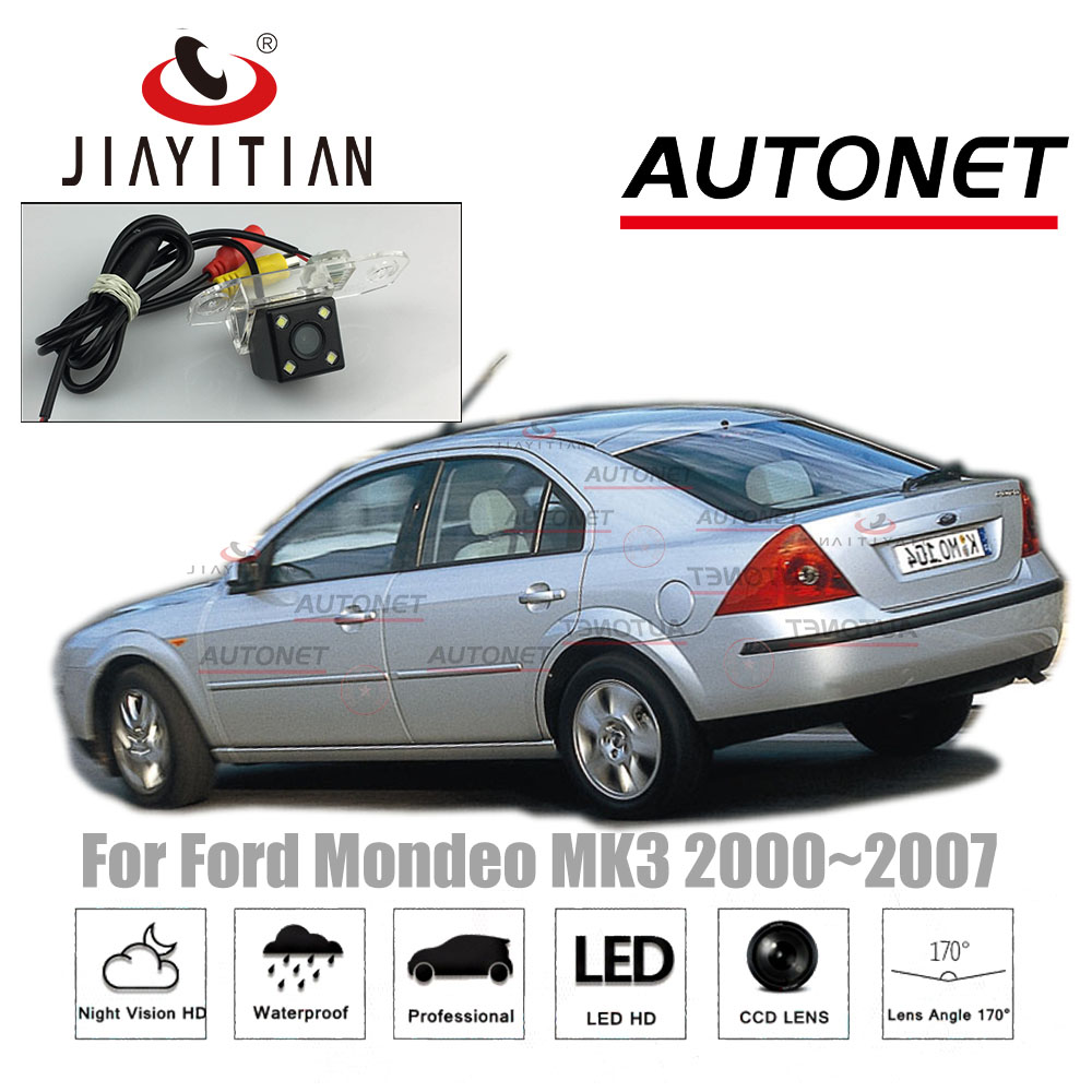 JIAYITIAN Rear Camera For Ford Mondeo MK3 2000~2007 2004 2005 2006/CCD/Night Vision/Reverse Camera/Backup License Plate Camera