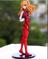 Envío gratis Anime EVA Neon Genesis Evangelion figura de acción de SORYU ASUKA LANGLEY PVC colección modelo de juguete