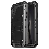 Luphie Warwolf IP68 Waterproof Shockproof Dustproof Snowproof 3 Proofings Case Cover For IPhone X