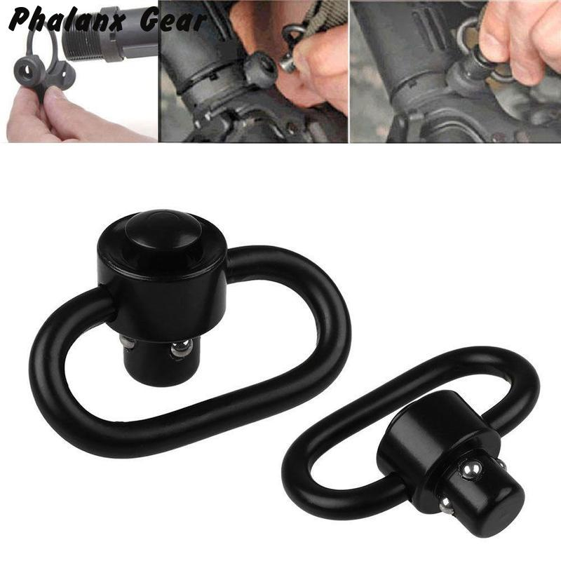 Image 5 - Quick Detach Sling Swivel Detachable Adapter Tactical Hunting Attachment-in Scope Mounts & Accessories from Sports & Entertainment