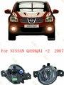 LUZES AUTO estilo Do Carro Lâmpadas de luz de Nevoeiro Para NISSAN QASHQAI + 2 2007-2015 1 CONJUNTO
