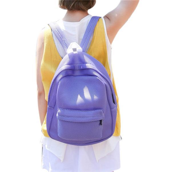 Aelicy bags for women 2019 Fashion Hollow Mesh backpack Shoulder Bag Schoolbag bolsa feminina bolsos mujer carteira feminina sacAelicy bags for women 2019 Fashion Hollow Mesh backpack Shoulder Bag Schoolbag bolsa feminina bolsos mujer carteira feminina sac