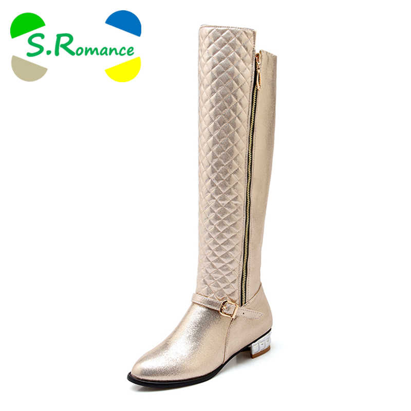 Detail Feedback Questions about S.Romance Women Boots Plus Size 34 ... 0868e4077c00