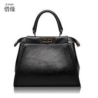 Top Handle Bags Women Leather Handbags Large Solid Shopping Tote Shoulder Bag Messenger CROSSBODY Bags