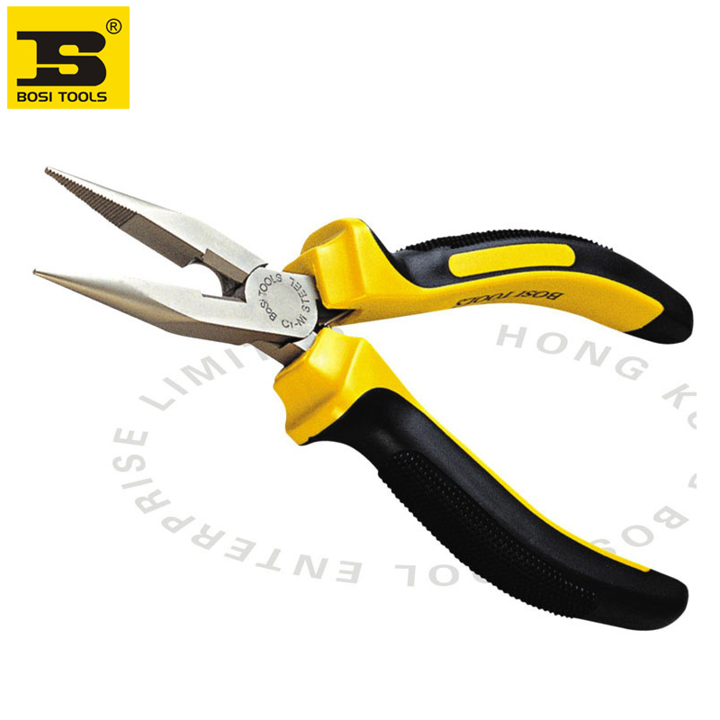 """free shipping new 8"""" long needle nose cutting plierselectrician pliersBOSI hand tools"""