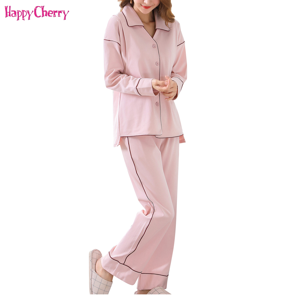 Maternity Pajamas V-Neck Kimono Cotton Maternity Nursing Pajamas Pregnancy Clothes Homewear Sets Maternity Sleepwear Nightwear blue sexy v neck lace details pajamas set with wire