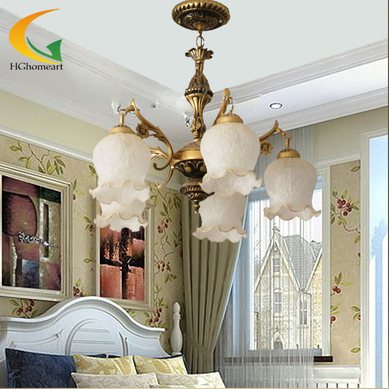 European pastoral bronze chandelier complex lighting restaurant bedroom study lamp living room antique iron chandelier jane european pastoral creative lighting restaurant lamp bedroom balcony living room ceiling lighting hanging iron