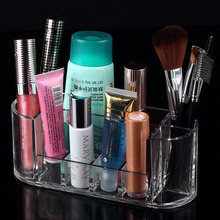 8 grid Lipstick Holder, 2015 New Clear Makeup Jewelry Cosmetic Storage Display Box Acrylic Case Stand Rack Holder Organizer