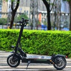 Folle velocità 85 km/h 3200W Doppio Motore Anteriore e posteriore sospensioni Potente Pieghevole Per Adulti Scooter Elettrico Hoverboard con Sedile