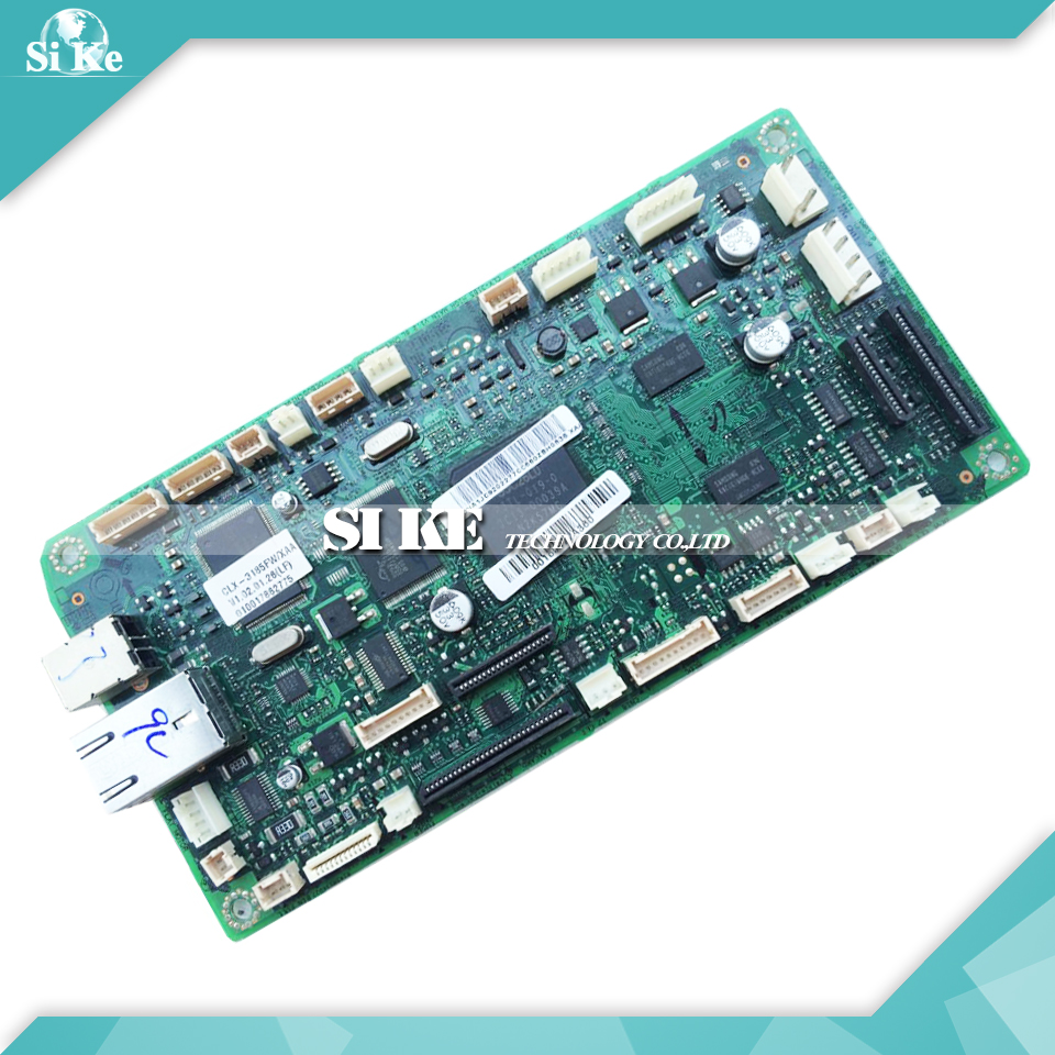 Laser Printer Main Board For Samsung CLX-3185FW CLX-3186FN CLX 3185FW 3186FN CLX3185FW Formatter Board Mainboard Logic Board стоимость