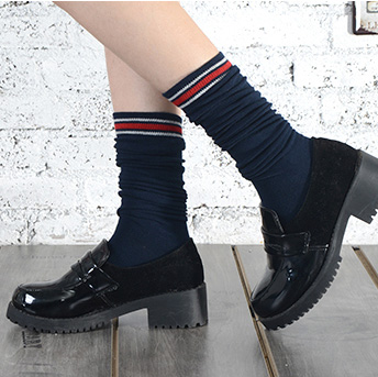 02a14c6ec 2017 new hot sweet pink long harajuke women's stocking cotton meias  skateboard fashion style girl knee high sock wholesale-in Stockings from  Women's ...