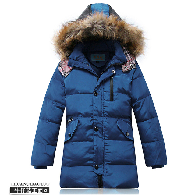 8ea051b8b New 2016 Children Down   Parkas Outdoor Boys Thickening Long ...