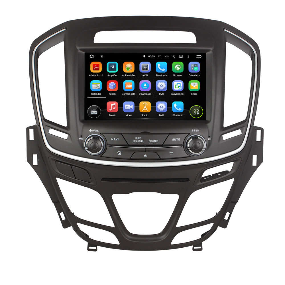 8 Inch 1024*600 Android 5.1.1 PC 1GB/16GB 2 Din Mirror link Car DVD Player GPS Navigation Radio Player For Buick Regal 2014-2016