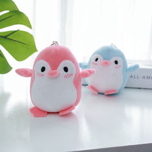 Image 5 - Kawaii 4 Kleuren Zoete 12Cm Ca. Mini Pinguïn Pluche Hanger Gevuld Speelgoed, Sleutelhanger Pinguïn Gift Wedding Party Knuffel