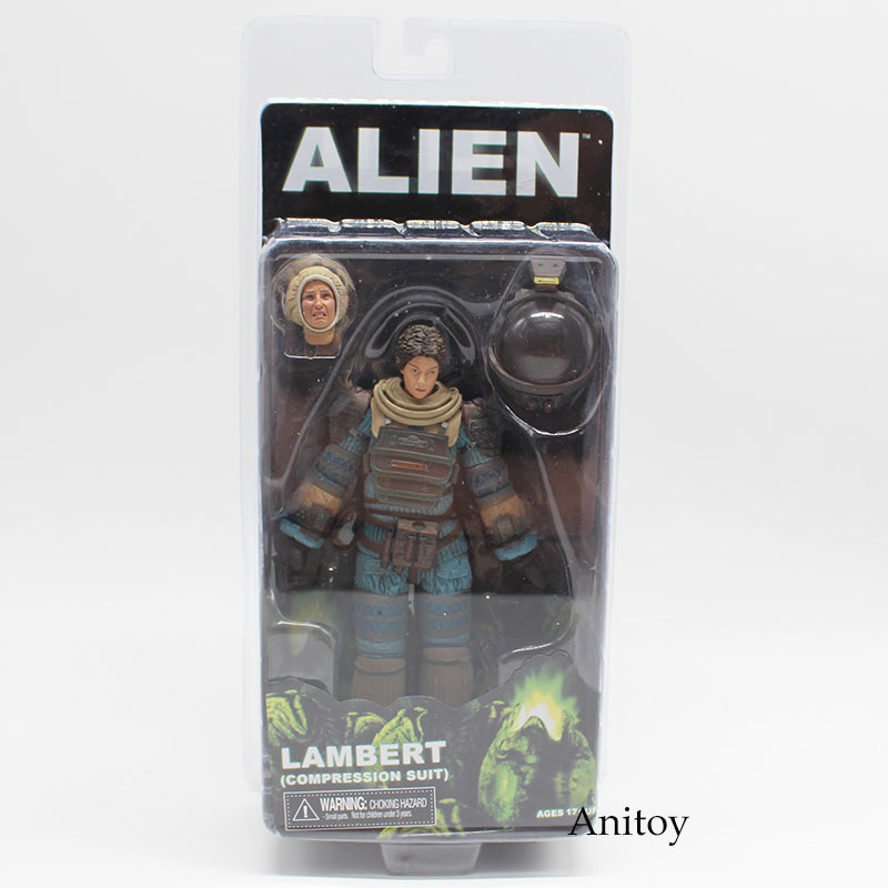 Alien Lambert In Space Suit Warrior Alien & Xenomorph PVC Figure Collectible Toy 15cm KT4144