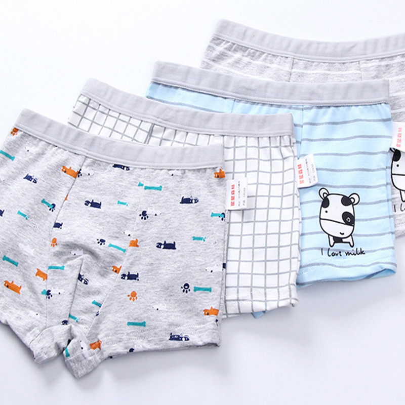 2pc/lot  Boys Panties  Cotton Boxer Shorts  Young Pantie   Briefs Kids  Baby Girl Clothes  Panties For Kids