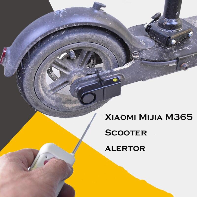 Xiaomi Mijia M365 Électrique Scooter Antivol Alarme Sirène Sans Fil Télécommande Dispositif Capteur de Sécurité Alertor Planche À Roulettes de Verrouillage