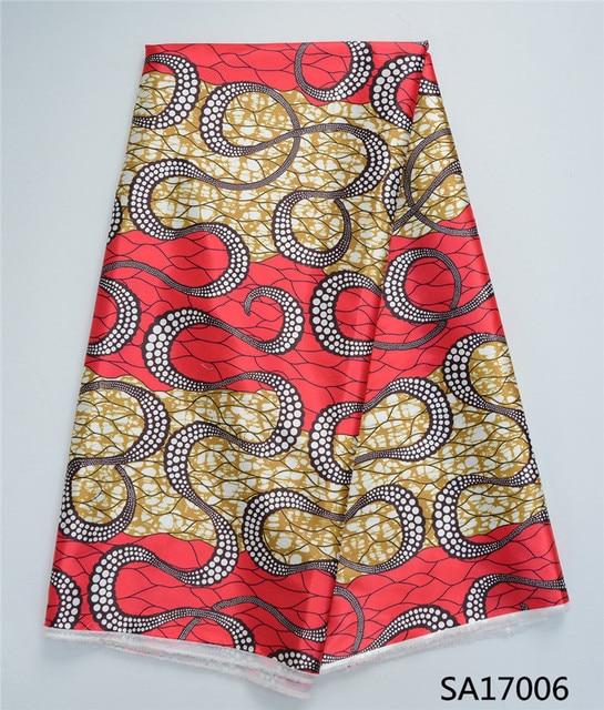 tissu africain soie