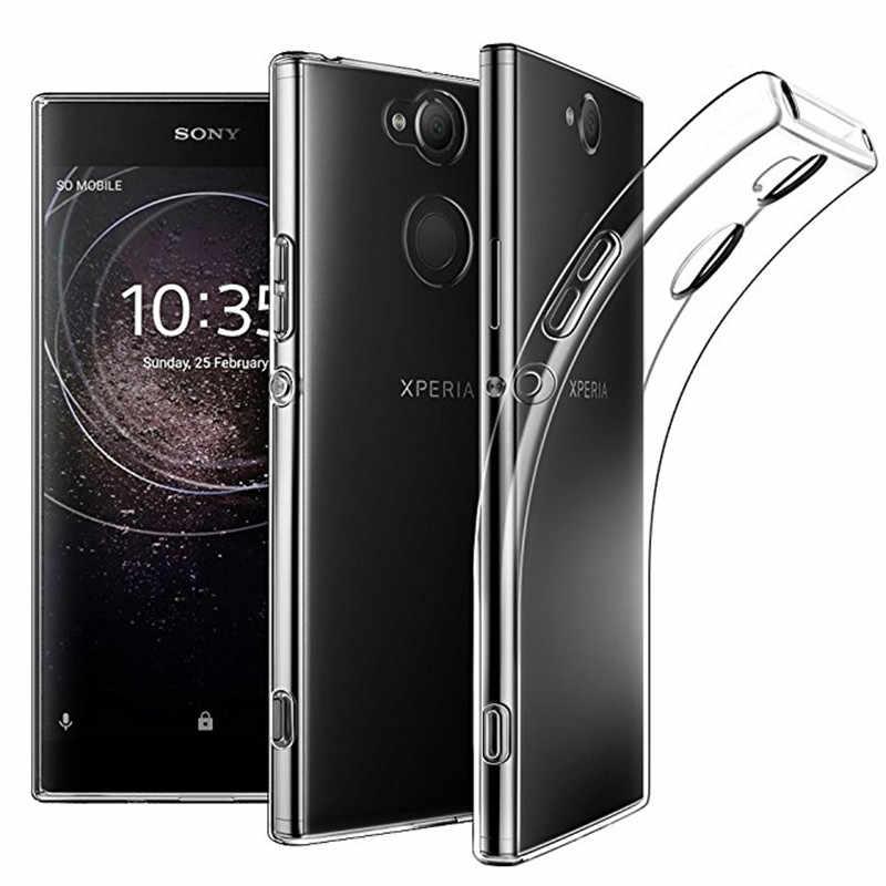 Мягкий ТПУ Прозрачный чехол для телефона чехол для sony Xperia 1 XZ XZ1 XZ3 XZ2 компактный Z3 Z5 Премиум M4 M5 E4 E5 XA XA1 10 плюс XA2 ультра XA3