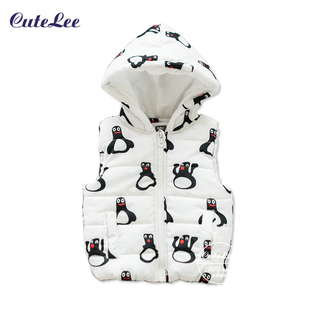 Coletes à prova de recém-nascidos de outono jaqueta criança roupas caráter crianças moda clothing coletes com capuz casuais meninas do bebê casacos colete gilet