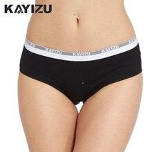 6 יח\חבילה KAYIZU אחיד נשי תחתוני כותנה תחתוני נשים הלבשה תחתונה הלבשה תחתונה סקסית גבירותיי תקצירי מותן נמוך של נשים Underwears הרבה