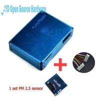 1 conjunto poeira PM2.5 PMS7003 G7 Alta-precisão do laser Do Laser sensor de concentração de partículas de poeira + meia e cabo digital