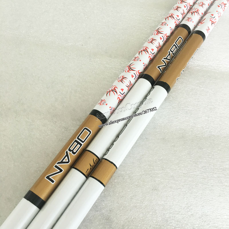 Image 5 - wholesale New Golf Drivers shaft OBAN WHITE Graphite shaft 04S Flex clubs Golf wood shaft Free shipping-in Club Shafts from Sports & Entertainment