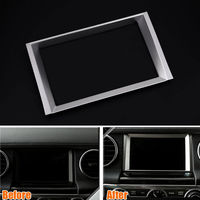 BBQ@FUKA For 2010 2016 Land Rover LR4 Discovery4 Car Console GPS Inner Navigation Trim
