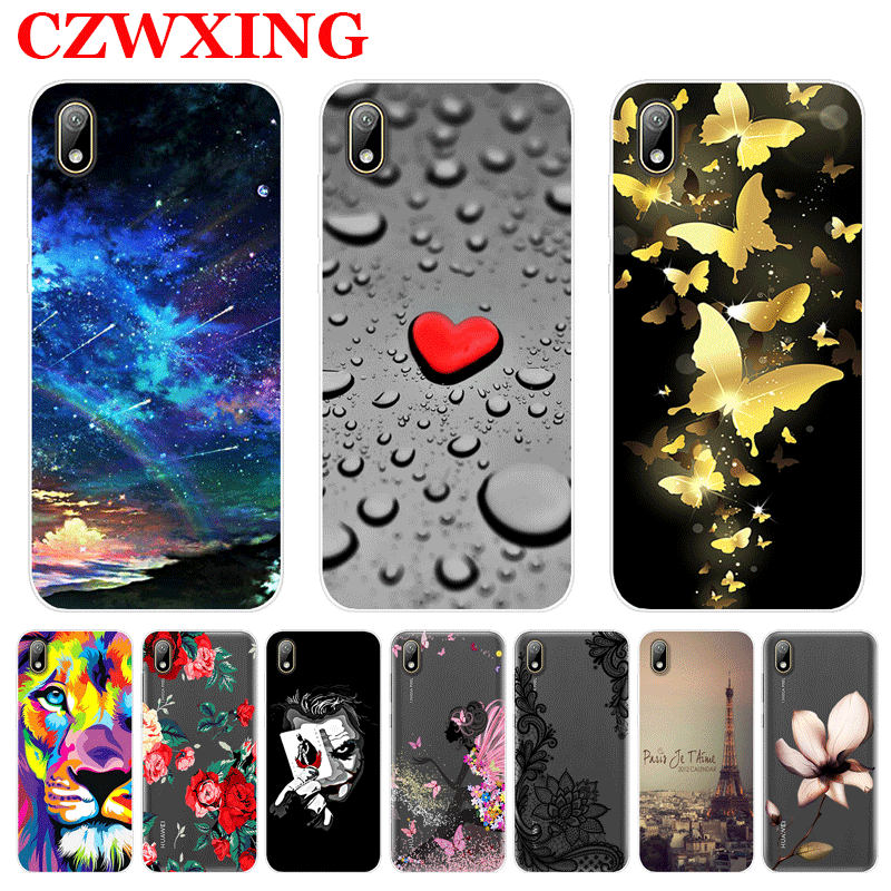 For Huawei Y5 2019 Case Silicone TPU Soft Phone Case For Huawei Y5 2019 Y 5 Y6 Y7 Y9 2019 Y52019 AMN-LX9 AMN-LX2 AMN-LX1Cover