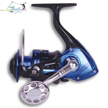 2018 Gapless Spinning Fishing Reel 13BB Fishing Reel 3000H 4000H 5000H 6000H Spinning Reel Drag Power Bass Carp Fishing Tackles seaknight rapid 3000h 4000h 5000 6000 anti corrosion saltwater fishing reel 11bb 6 2 1 4 7 1 8 15kg carp fishing spinning wheel