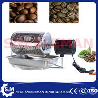 201 Or 304stainless Steel Coffee Roaster Machine Coffee Roasting Machine Used In Gas Stove And Electric