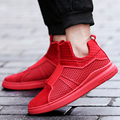 Men Casual Shoes High Top Cotton Plush Boots Sport Flat Walking Shoes Mens Trainers Red Bottom Superstar Basket Zapatos Fur Boot