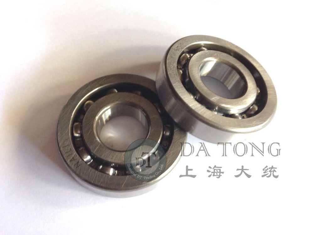 (2pcs/lot) high quality 16304 bearing for DIO50 honda zx18 scooter Crankshaft part suzuki QJ Keeway Chinese motorcycle atv part
