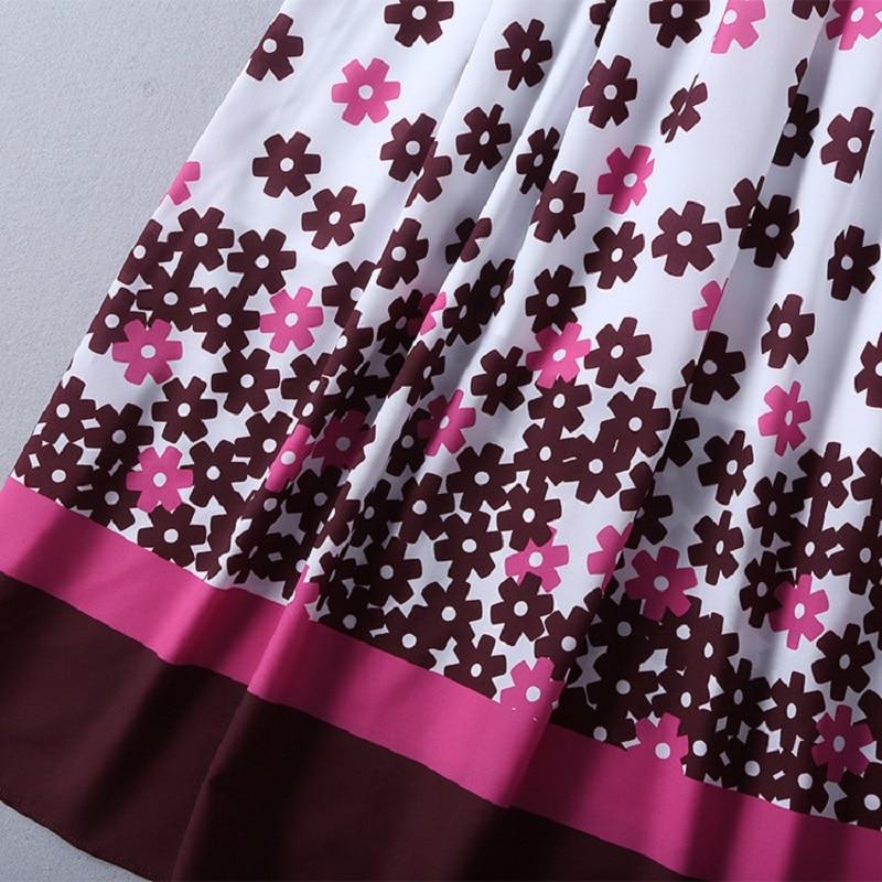 Moda Superior Grado Fiesta Floral Diseñador Cuello Mujeres Primavera V En 2019 Larga Vestido Manga Con Hermosa Maxi Las Largo De Estilo dgwfwXq