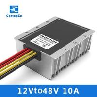 12V to 48V10A DC/ Power Converter 10 20V Variable 48V Car Boost Power Supply Module Transformer