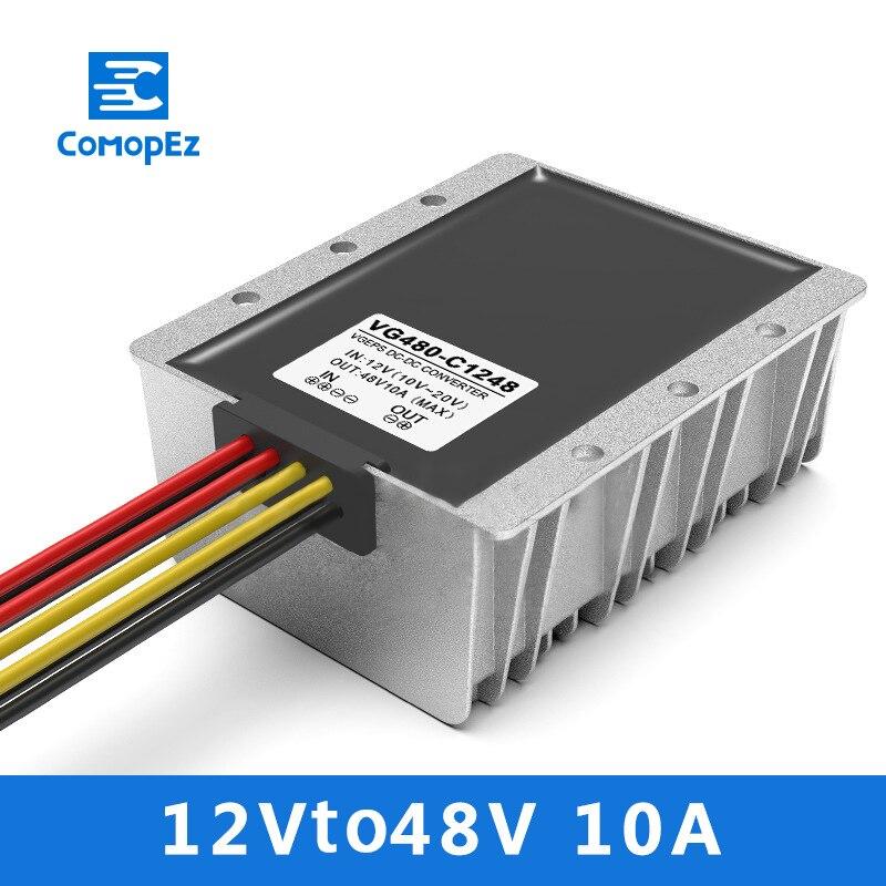 12 V à 48V10A DC/convertisseur de puissance 10-20 V Variable 48 V transformateur de Module d'alimentation de voiture