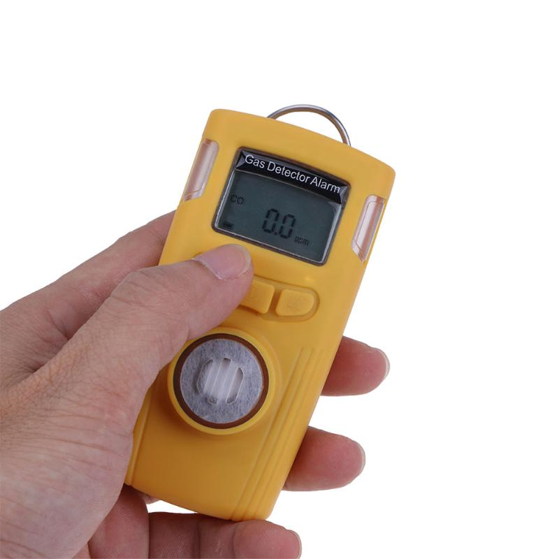 HT-530 Mini LCD Carbon Monoxide Detector Gas Detector Alarm Electrical CO Gas Tester Combustible Gas Leak Detector High Accuracy