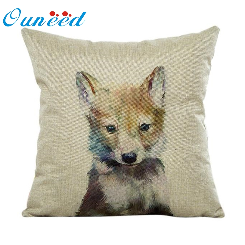 Ouneed Pillow Case Sofa Waist Throw Cushion Cover Cheap capa de almofada U6916