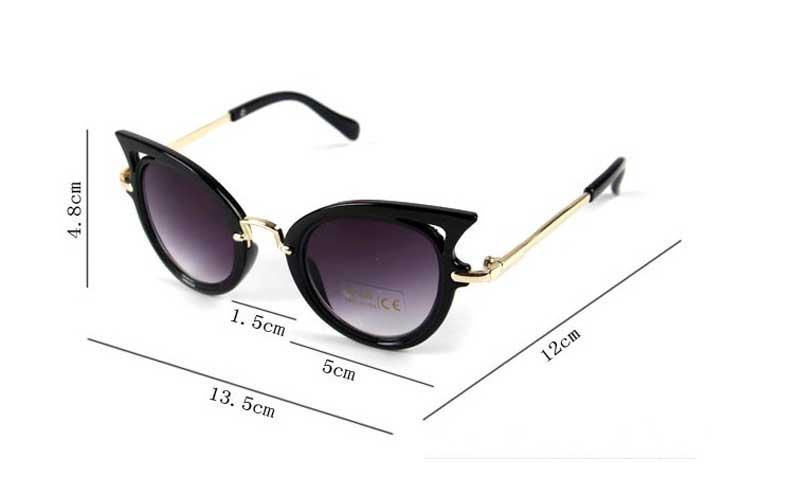 HTB1CbuanxPI8KJjSspfq6ACFXXam - 2017 Kids Sunglasses Girls Brand Cat Eye Children Glasses Boys UV400 Lens Baby Sun glasses Cute  Eyewear Shades Goggles
