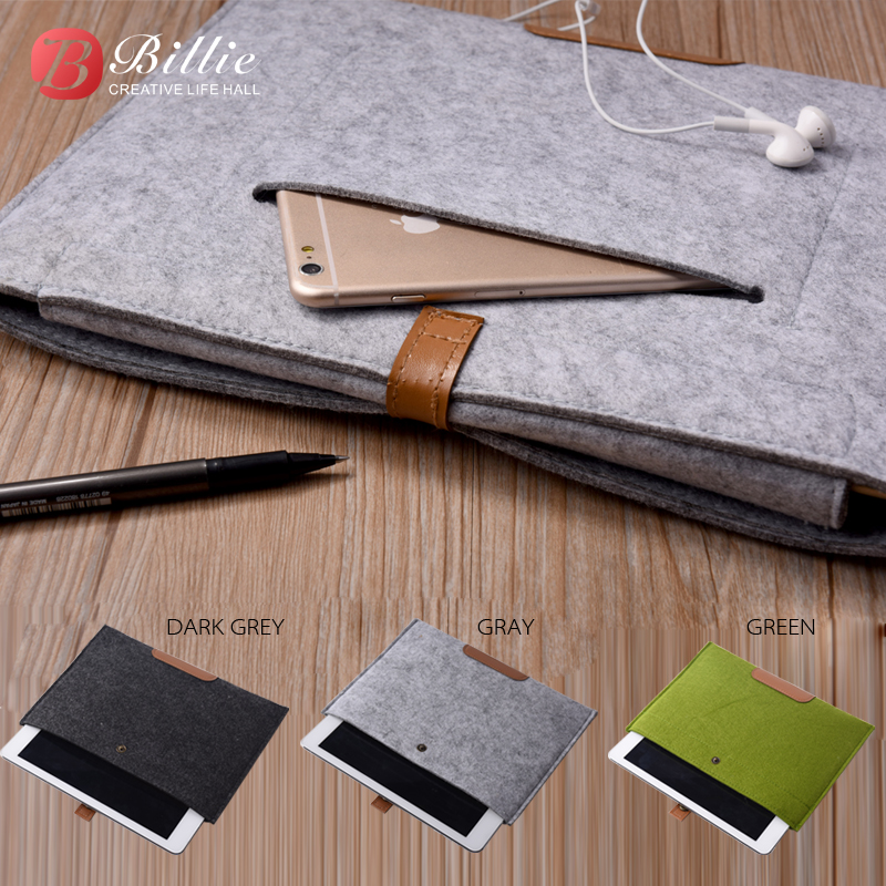 High Quality  Wool Felt For apple ipad pro 12.9 Case Sleeve  For iPad Pro 12.9 inch Sleeve Pouch Bag Laptop Bag Tablet Cases high quality 10 25 4cm colorful hard netbook laptop sleeve case bag for ipad 2 3 4 5 6 sleeve bag