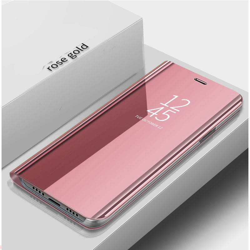 """Für Samsung A71 Fall 6.7 """"Luxus Ständer View Flip Spiegel Telefon Fall Für Samsung Galaxy A71 Fall Schützen EIN 71 zurück Abdeckung funda"""