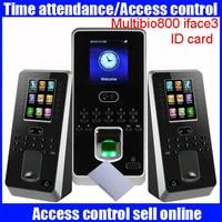 Fingerprint access control 125khz ID card smart card access control SilkID sensor Zkteco F21 fingerprint time attendance system