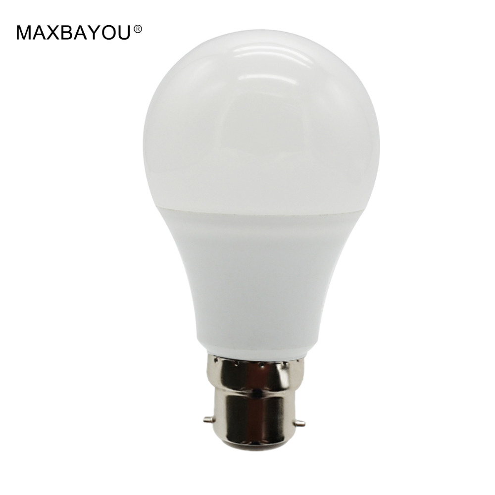 LED Bulb B22 3W 5W 7W 9W 12W 15W SMD 5730 Real Power Led Light Bulb AC 220V-240V Cool Warm White Led Spotlight Lamp kinfire e27 3w 240lm 6500k 24 smd 5730 led white light corn lamp white transparent ac 220v