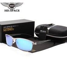 HD Gafas Hombre Polarizadas gafas de Sol Mujer Diseñador de la Marca Gafas de Espejo Movimiento Policía Piloto Gafas de Sol de Conducción Gafas LD102