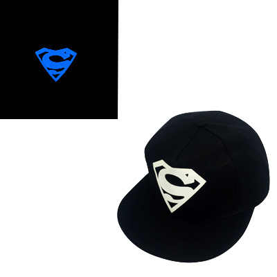 cbfad4c0eb7 ... Blue Fluorescent Baseball Caps Print Hip Hop Cap Casquette for Women  Men Sports Black Snapback Caps