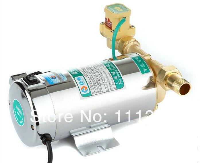 Chauffe-eau à gaz automatique domestique pompes à eau solaires pompe de surpression de l'eau muet 150 W