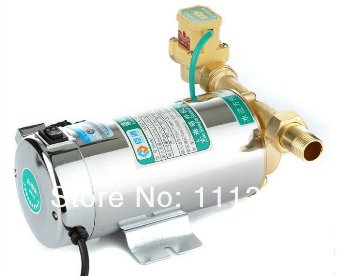 Household automatic gas water heater solar water pumps water pressure booster pump mute 150W