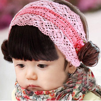 Varejo 1 pc Moda Cores Sortidas Flor Do Bebê Hairbands Bonitos Florais Crianças Fotografia Headbands Bebê Headware
